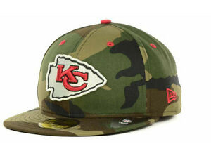 Official Kansas City Chiefs New Era NFL Camo Pop 59FIFTY Fitted Hat ... bf5b889bd