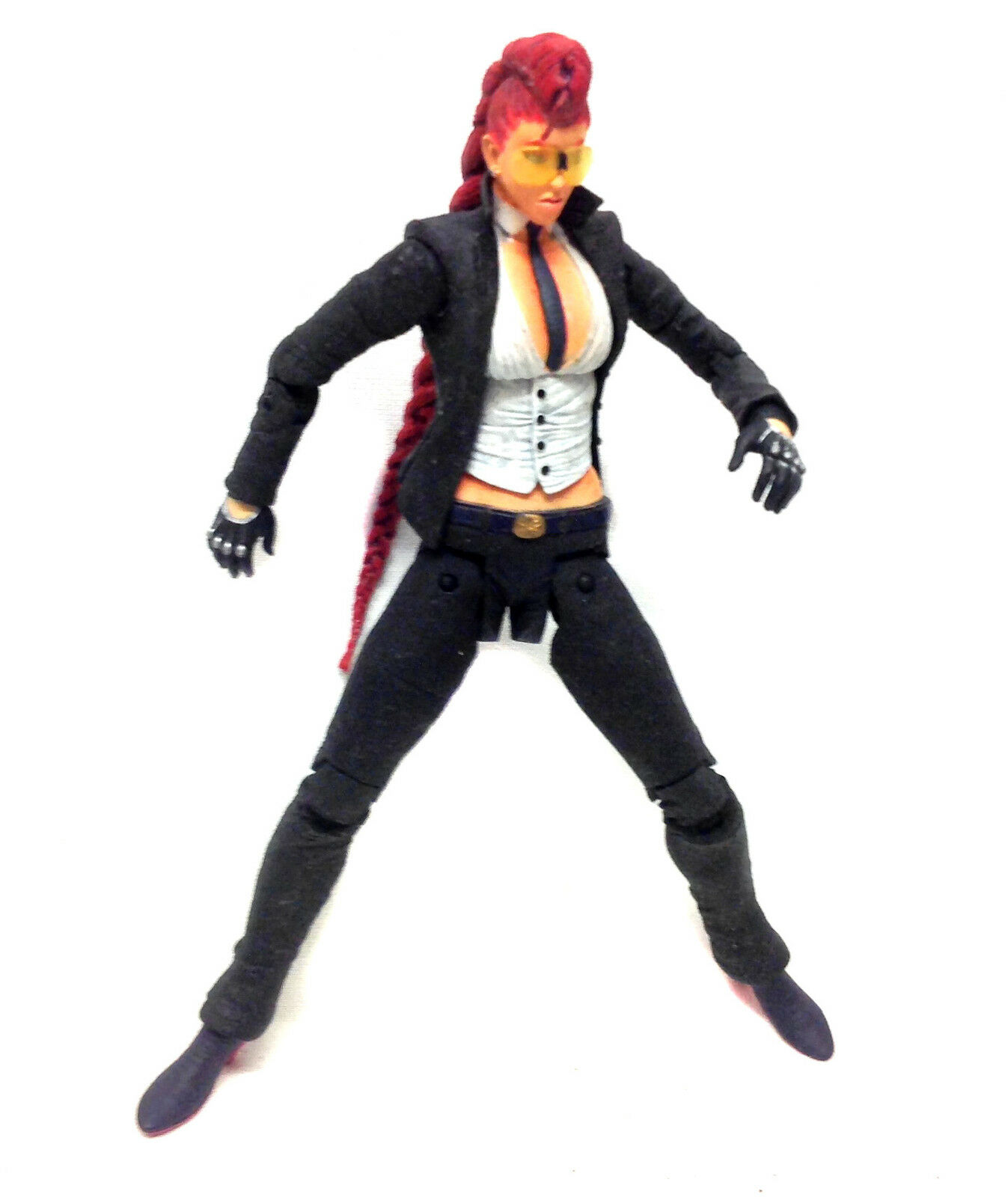CAPCOM Games STREET FIGHTER  VIPER 6  video game figure, ps3, wii, x box RARE