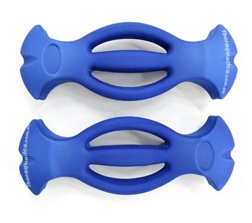 EASY GRIP Barbell Dumbell Foam LIGHT Water Aquatic Pool Hand Buoy Arthritis 6046