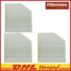 3X-Filteristen-InnenraumfilterPolenfilter-Mercedes-C-Klasse-W-S-205-ab-Bj03-2014