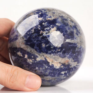 654g-79mm-Large-Natural-Blue-Sodalite-Quartz-Crystal-Sphere-Healing-Ball-Chakra