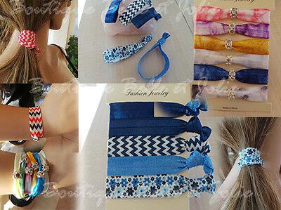 2 in 1:  Haargummis und Armbänder Zopfgummis Elastisch Armband 5 oder 6 St