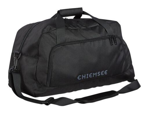 Chiemsee Weekender Sac de Sport Sac De Voyage Sac Deep Black Noir