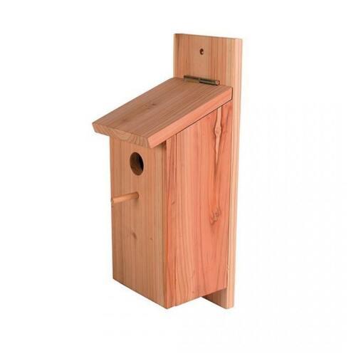 Meisenkasten Nest Vogelhaus 36 cm großer Holz Nistkasten Bausatz  435020