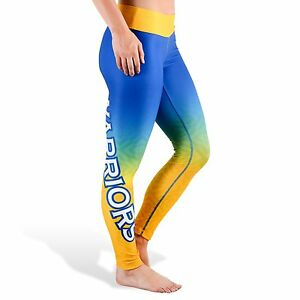 4852b59d Golden State Warriors Women's Gradient Print Leggings By Klew Tights ...
