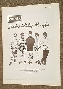 Oasis-Definitely-Maybe-debut-1994-press-advert-Full-page-30-x-39-cm-mini-poster