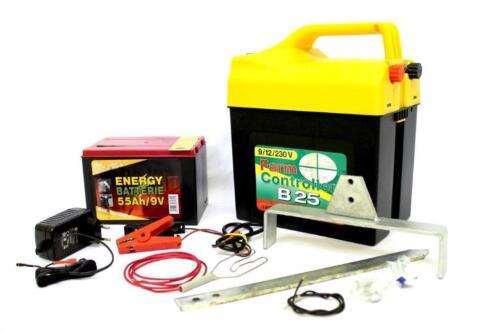 Weidezaungerät FC b25 9 V 12 V 230v 9 V//55 ah batería dispositivo adaptador de alimentación