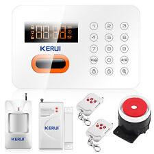 KR X1 PSTN Wireless&Wired 120 zones LCD Touch Keypad Home Security Alarm System