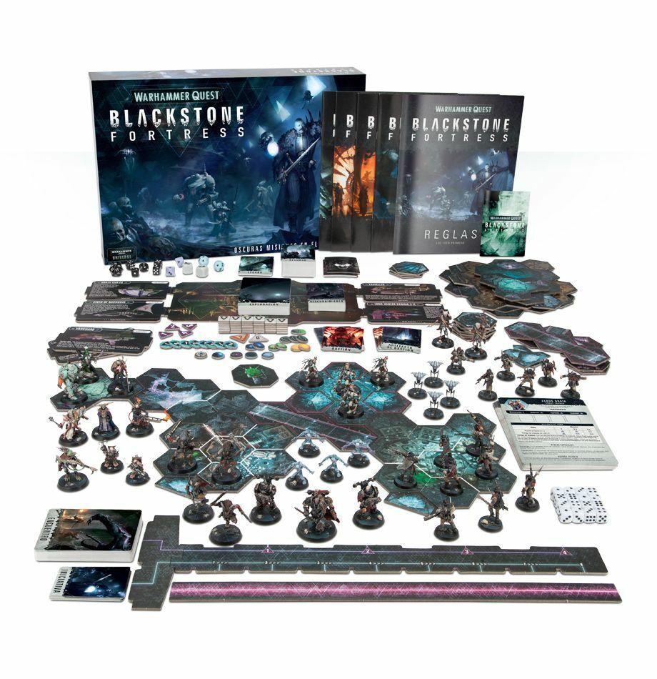 Warhammer Quest negrostone Fortress Nuevo New