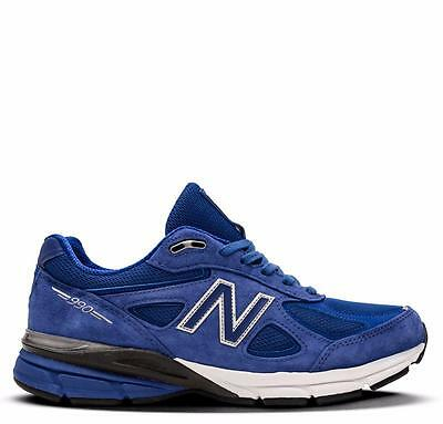 45fa2ba50b5f NEW BALANCE 990 M990RY4 ROYAL BLUE WHITE BLACK - SUEDE MESH - MADE ...