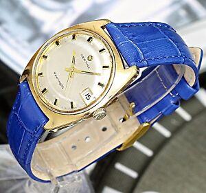 Swiss-Made-Certina-WaerKing215-Mechanical-17Jewels-Rare-Vintage-Men-039-s-Watch-Date