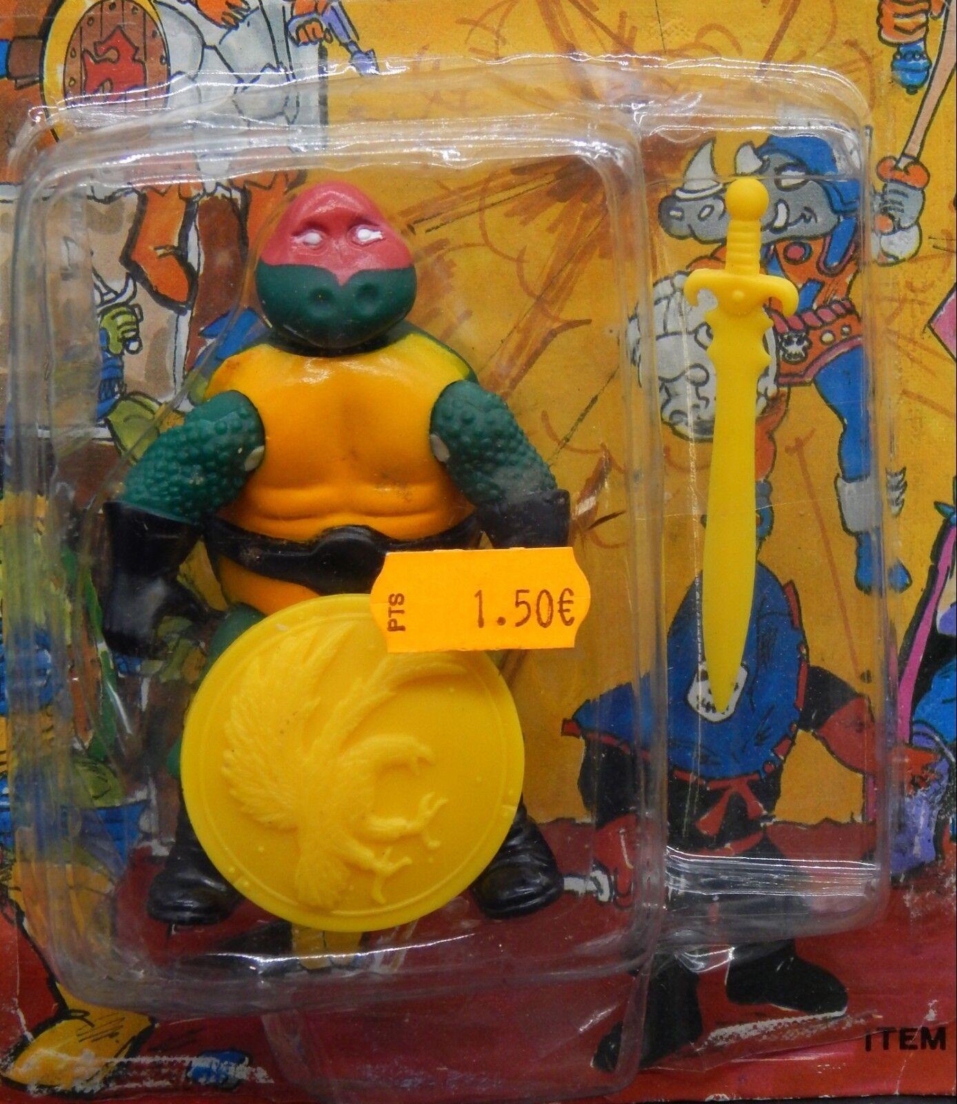MOC vintage LJN Dungeons & Dragons TMNT crazy Stiefelleg action figure Ninja Turtle