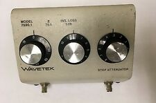 Wavetek 7580.1 STEP ATTENUATOR (75 OHM)