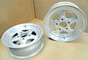 Weld-Racing-Pro-Star-Wheels-15-034-x-8-034-5-034-Bolt-Circle-5-1-2-034-BS-pair