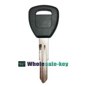 Car Transponder Ignition Chip Key Blank For 2000 2001 Acura Integra
