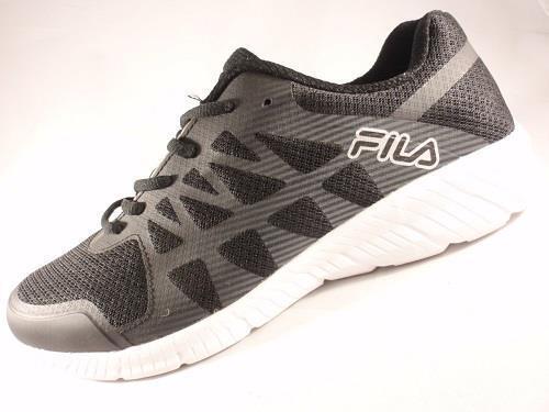 Men's FILA Black Shoes MEMORY FINITY Athletic Running Casual Shoes Black 1SR21412 NEW 6b2c59