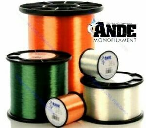 Ande Premium Monofilament Fishing Line (Select Color, Length and Quantity)