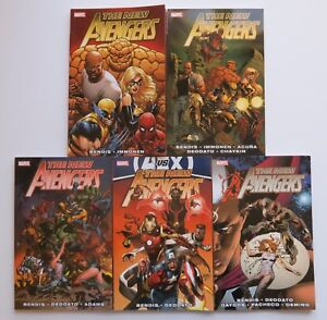 4 Marvel Graphic Novel Comic Book The New Avengers The Complete Collection Vol