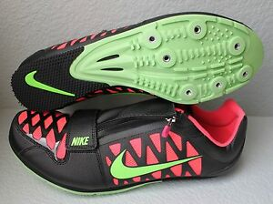 Men's Nike Zoom LJ 4 Long Jump Track Shoes/Spikes Black/Pink Many Sizes