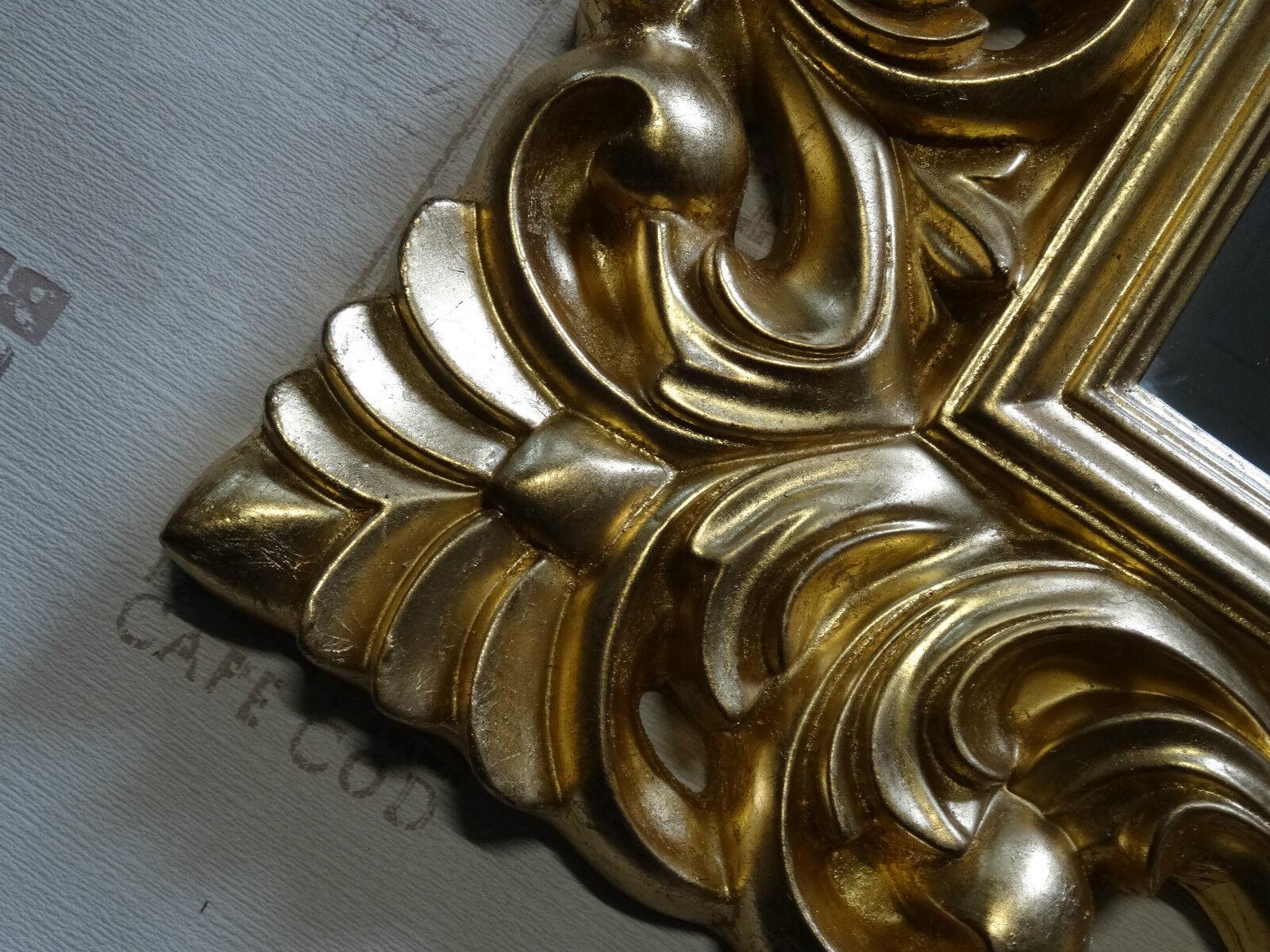 Wandspiegel antik rokoko 90x70 barock in gold florenza uvp for Couchtisch 90x70