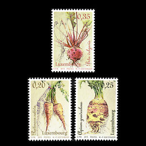 Luxembourg-2015-Vegetables-of-Yesteryear-Flora-Foot-Sc-1390-2-MNH