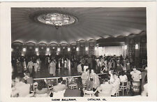RPPC,Catalina,California,Casino Ballroom,Dance Floor,c.1950s