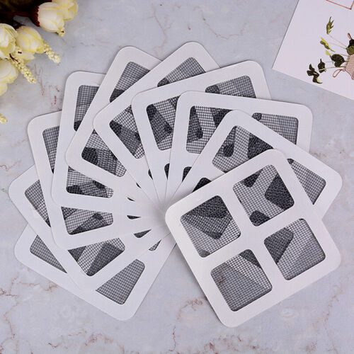 20x Anti-Insect Door Window Mosquito Screen Net Repair Tape Patch Adhesive n I