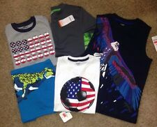 Gymboree Lot of 5 Short Sleeved Spring Tops Shirts Size 10 (L 10-12) All NEW NWT