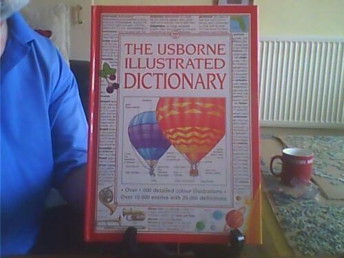 1 of 1 - The Usborne Illustrated Dictionary Hardback English Usborne 1994
