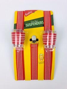 Wembley Novelty Shot Glass Holiday Suspenders