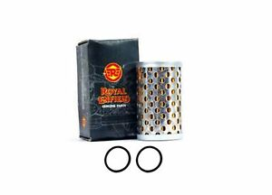 10x Oil Filter Cleaner Element for Royal Enfield Classic 350//500cc Motorcycle