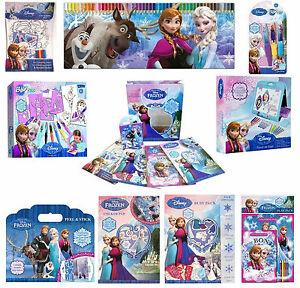Disney Eiskönigin Princess Anna Elsa Spaß Activity Schreibwaren Art Reiseset Neu