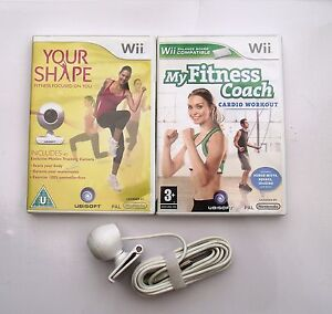 no sale tax offer discounts new products Details about YOUR SHAPE AND CAMERA AND MY FITNESS COACH CARDIO WORKOUT WII  PAL