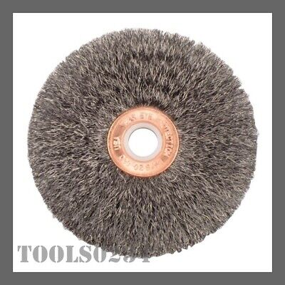 """Weiler 00205 3/"""" Narrow Face Crimped Wire Wheel .006 Steel Fill 5//8/"""" Arbor"""