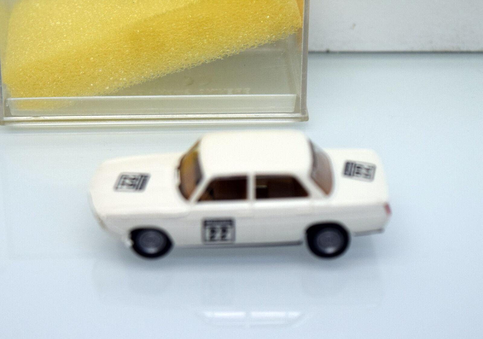 Brekina h0 2243 2243 2243 BMW 1800 TISA EM 1991 in Silverstone e76a16
