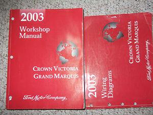 2003 ford crown victoria mercury grand marquis service shop repair rh ebay com 2003 mercury grand marquis repair manual pdf 2004 mercury grand marquis service manual