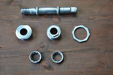 Vintage Thun Cottered Bottom Bracket 34.8mm 1.375 x 24TPI Cups Bearings 142mm