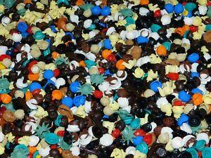 LEGO Building Toys LEGO BULK LOT OF 50 MINIFIGURE HATS BROWN BLACK GIRL BOY MINIFIG LEGO Minifigures