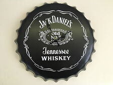 Authentic Vintage Jack Daniels Large Wall Clock Retro Man Cave Bar Mens Xmas