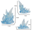 Effect-Ice-Iceberg-Figuarts-Figma-D-arts-rider-1-6-1-12-figure-hot-toys-model thumbnail 3