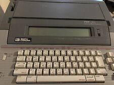 Smith Corona Pwp145 Portable Word Processor With 35 Disk Drive 800k Disc Tested
