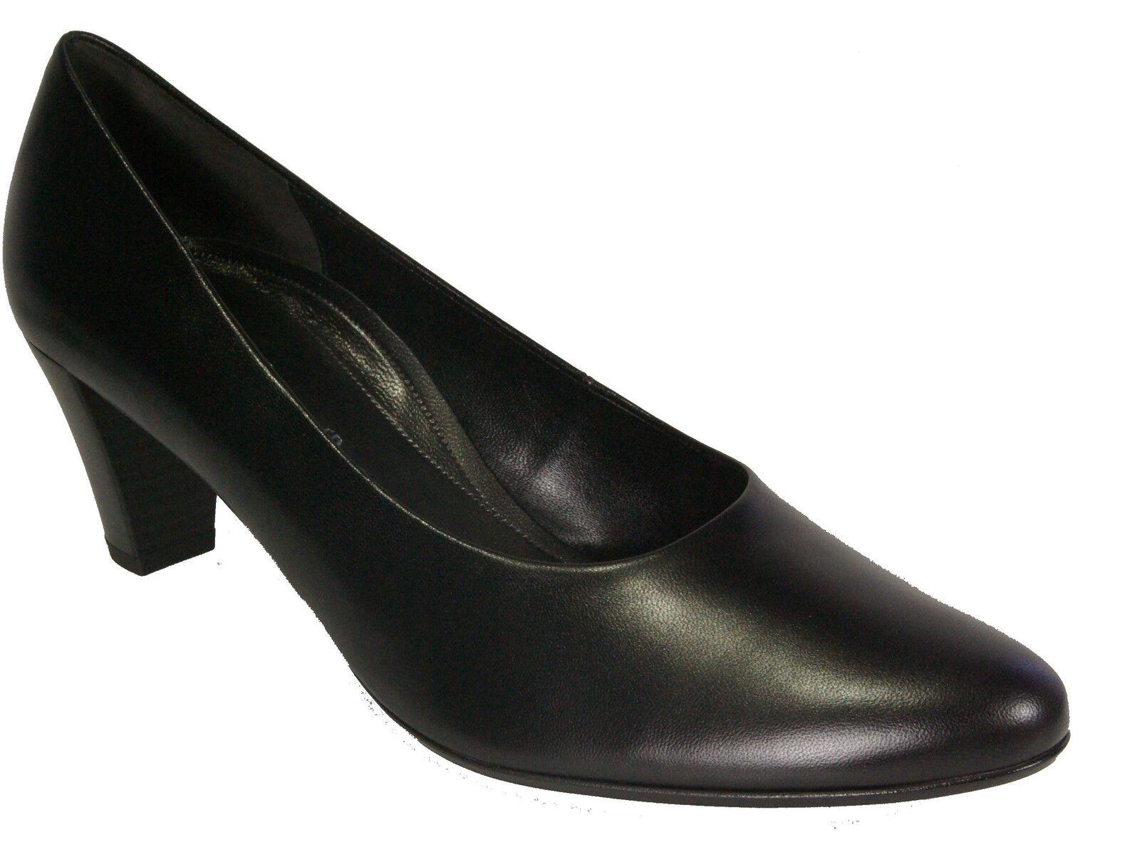 GABOR Schuhe Pumps schwarz Echt Leder G-Weite mm Soft Move Absatz 55 mm G-Weite NEU 0e5996