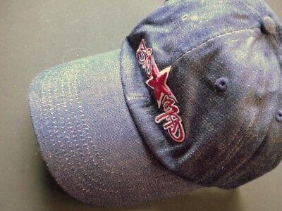 Contemplativo Cappuccio, Cap, Bagno + Mad, Logo B M, Jeans, Tessuto, Blu, Vintage-mostra Il Titolo Originale