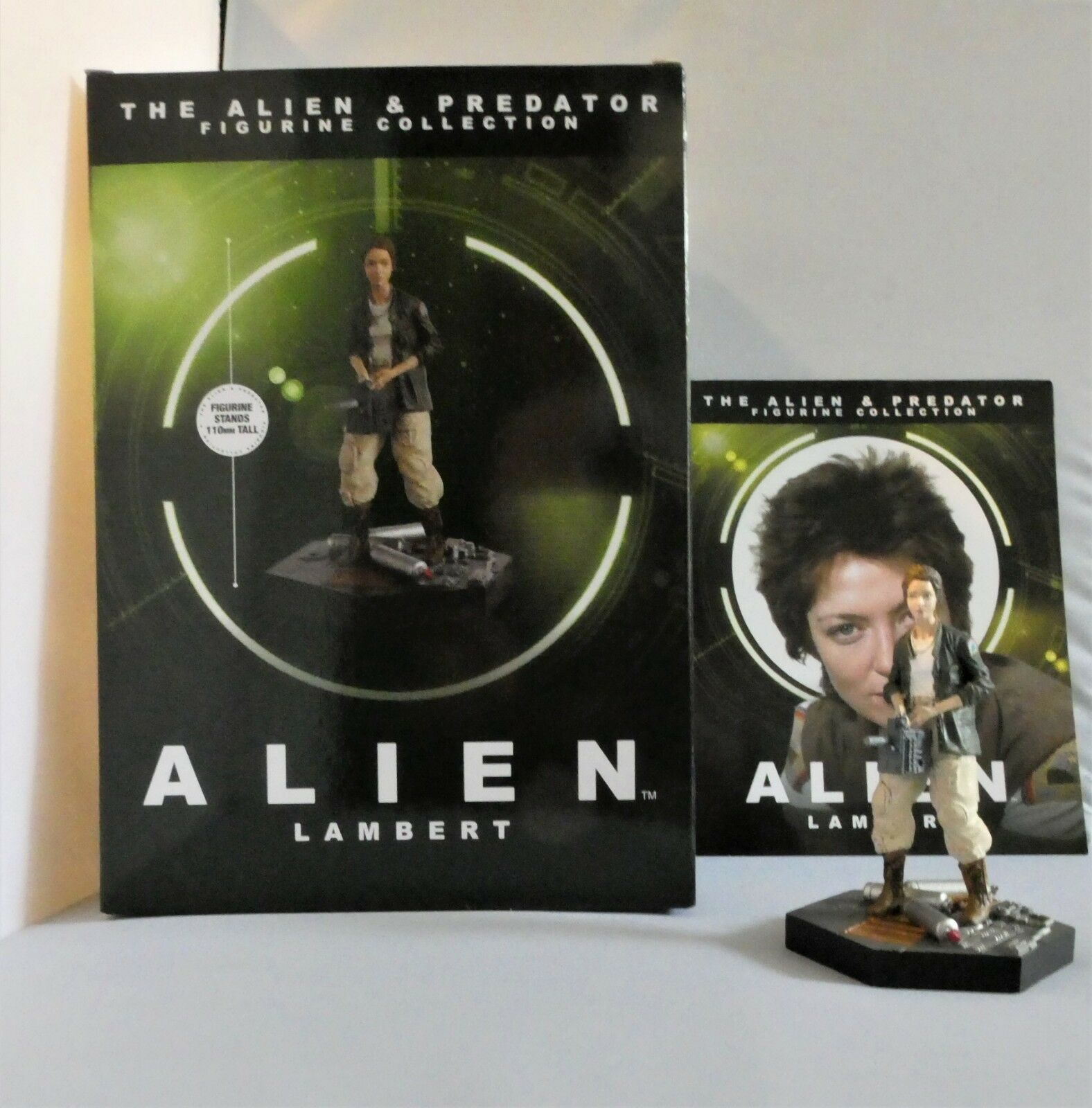 EAGLEMOSS ALIENS Joan Lambert Figurine (Alien 1979) COLLECTORS FIGURE