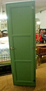 Chimney-Country-Kitchen-Pantry-Cupboard-1-Door-Green-and-Clean