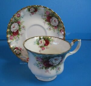 ROYAL-ALBERT-CELEBRATION-CUP-amp-SAUCER-EXCELLENT-CONDITION
