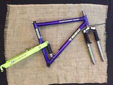 "Trek 9000 Suspension Track Suspension Mountain Bike Frame & Mogul Fork 18"""