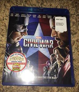 marvel civil war Bluray New