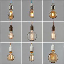 Vintage Industrial Filament Light Bulb - LED Lamps Bulbs Squirrel Cage Edison
