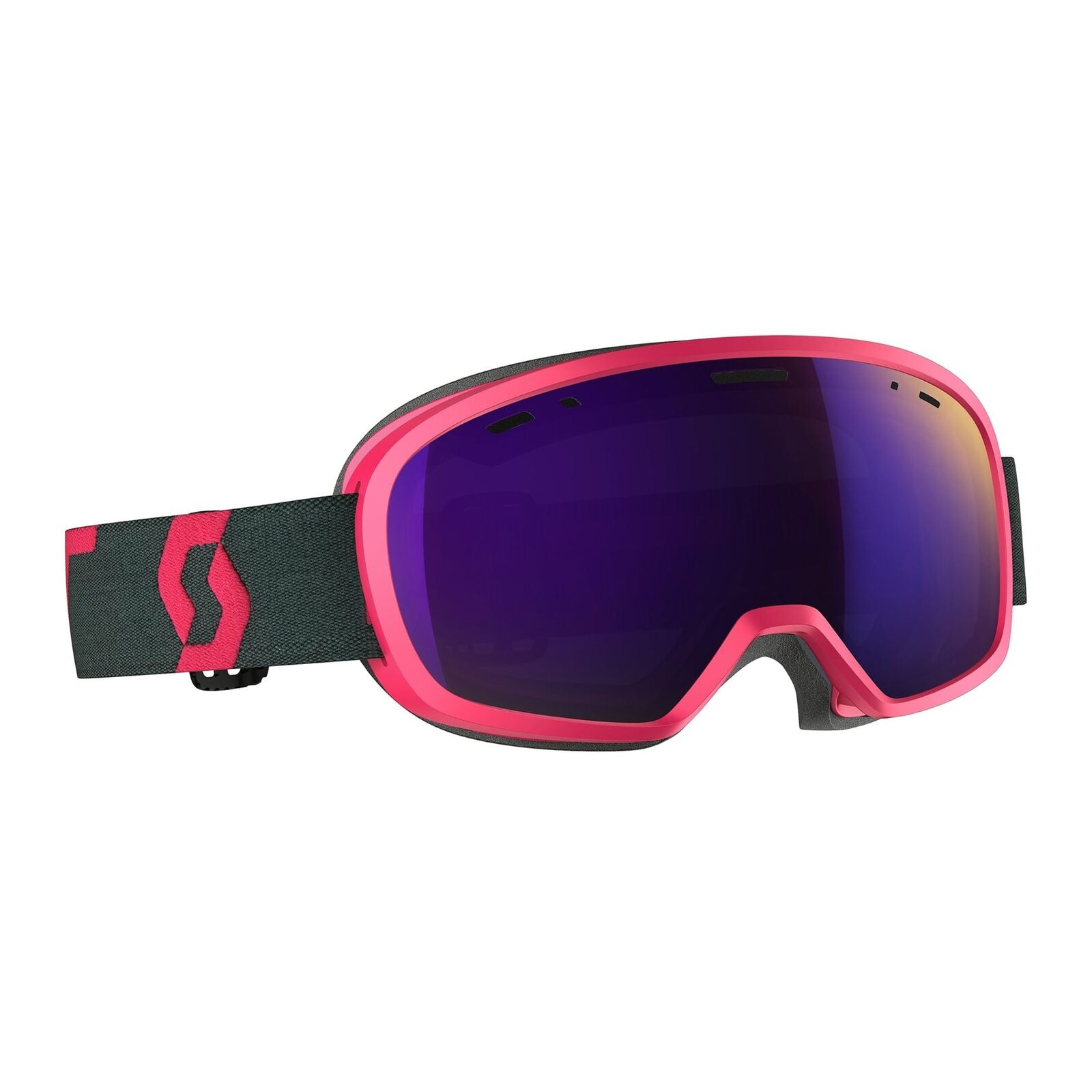 Scott Unisex Scot.260572 Scott Buzz Pro Goggle - Amplifier Purple Chrome (2018)